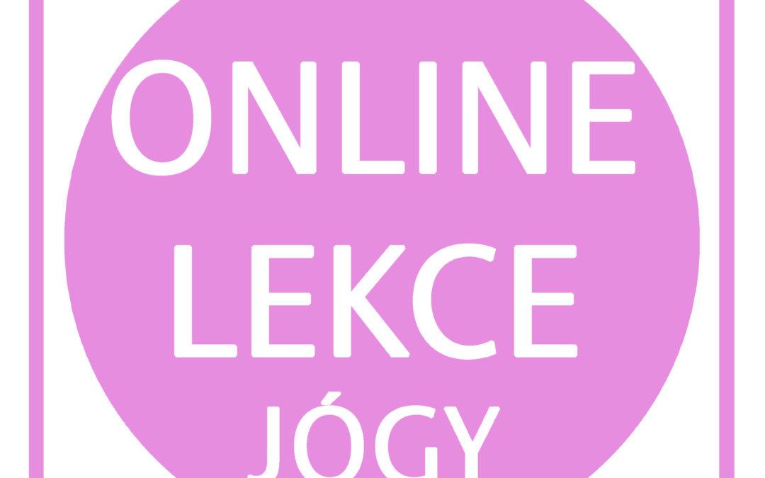 Online lekce jógy v Recall centru – info