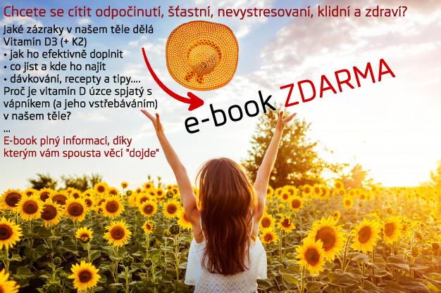 Stáhněte si E-BOOK ZDARMA – vitamín D, K, hořčík a vápník